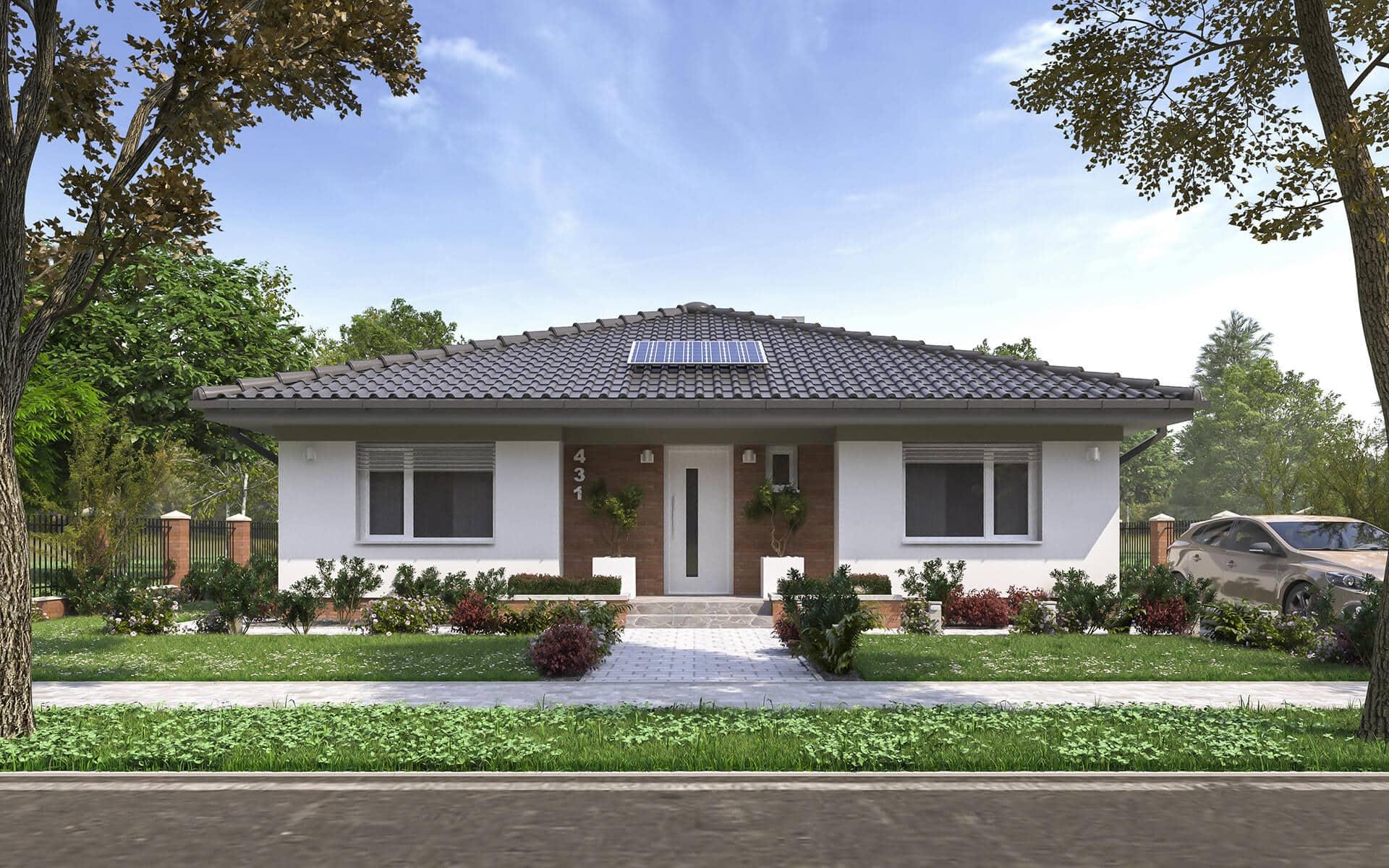 projekt 219 nizkoenergeticky dom