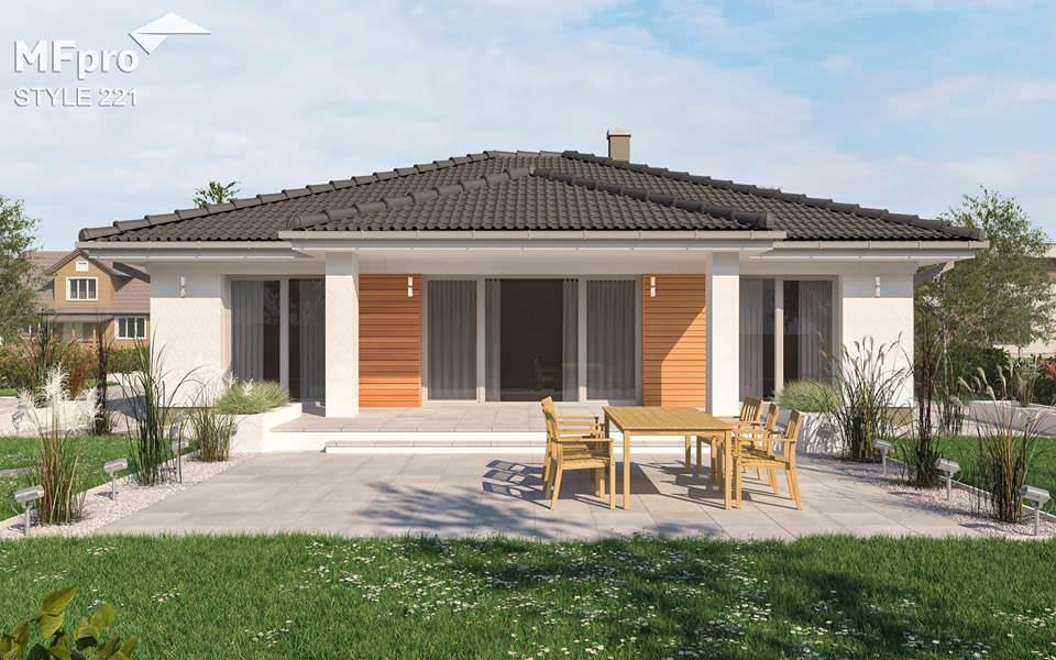 projekt rodinného domu style 221