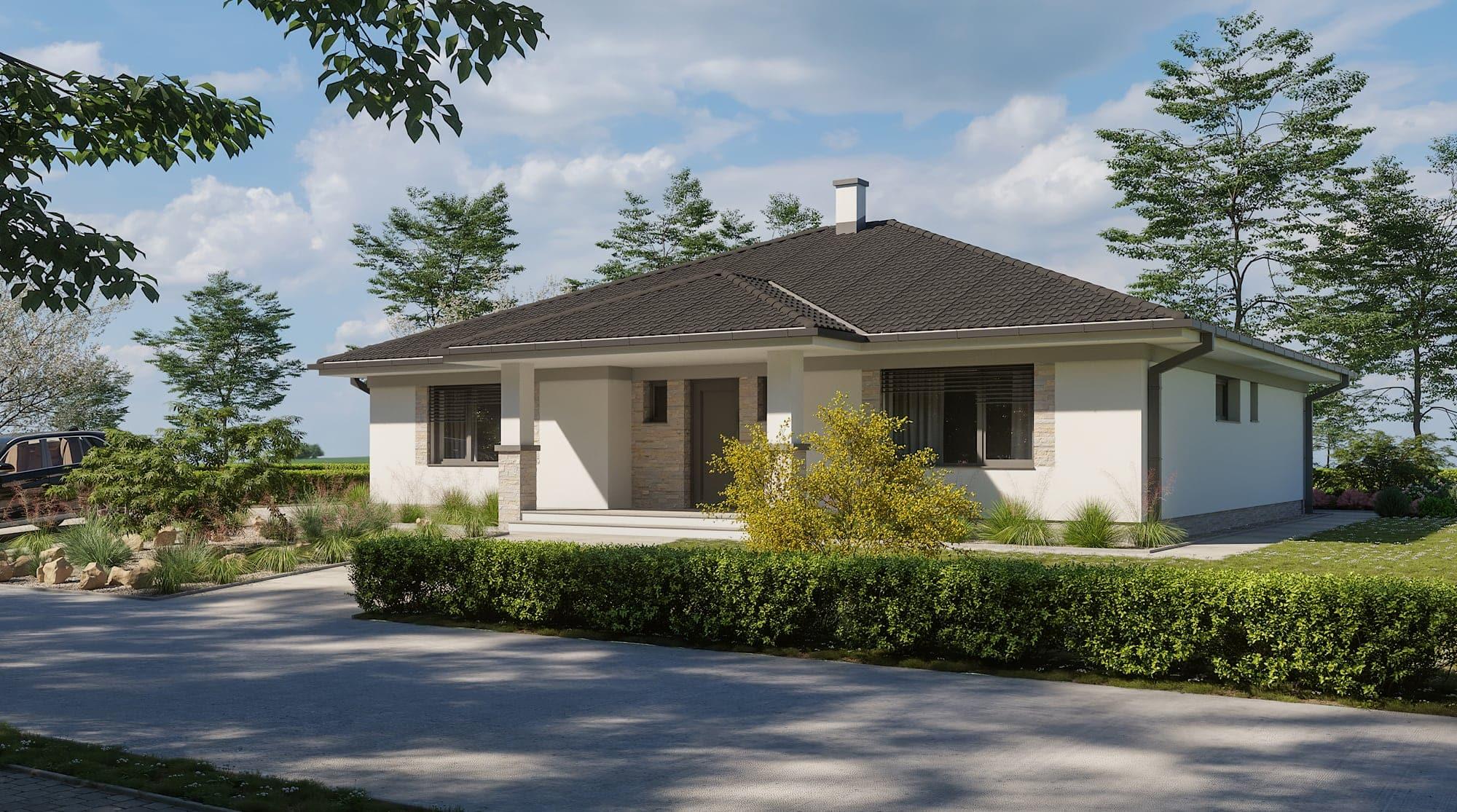 projekt rodinného domu style 238