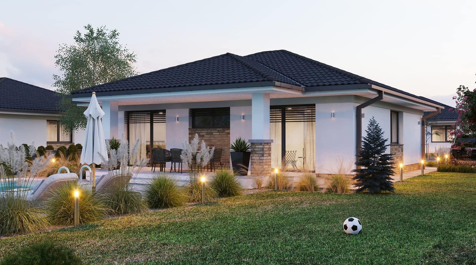 projekt rodinného domu style 236