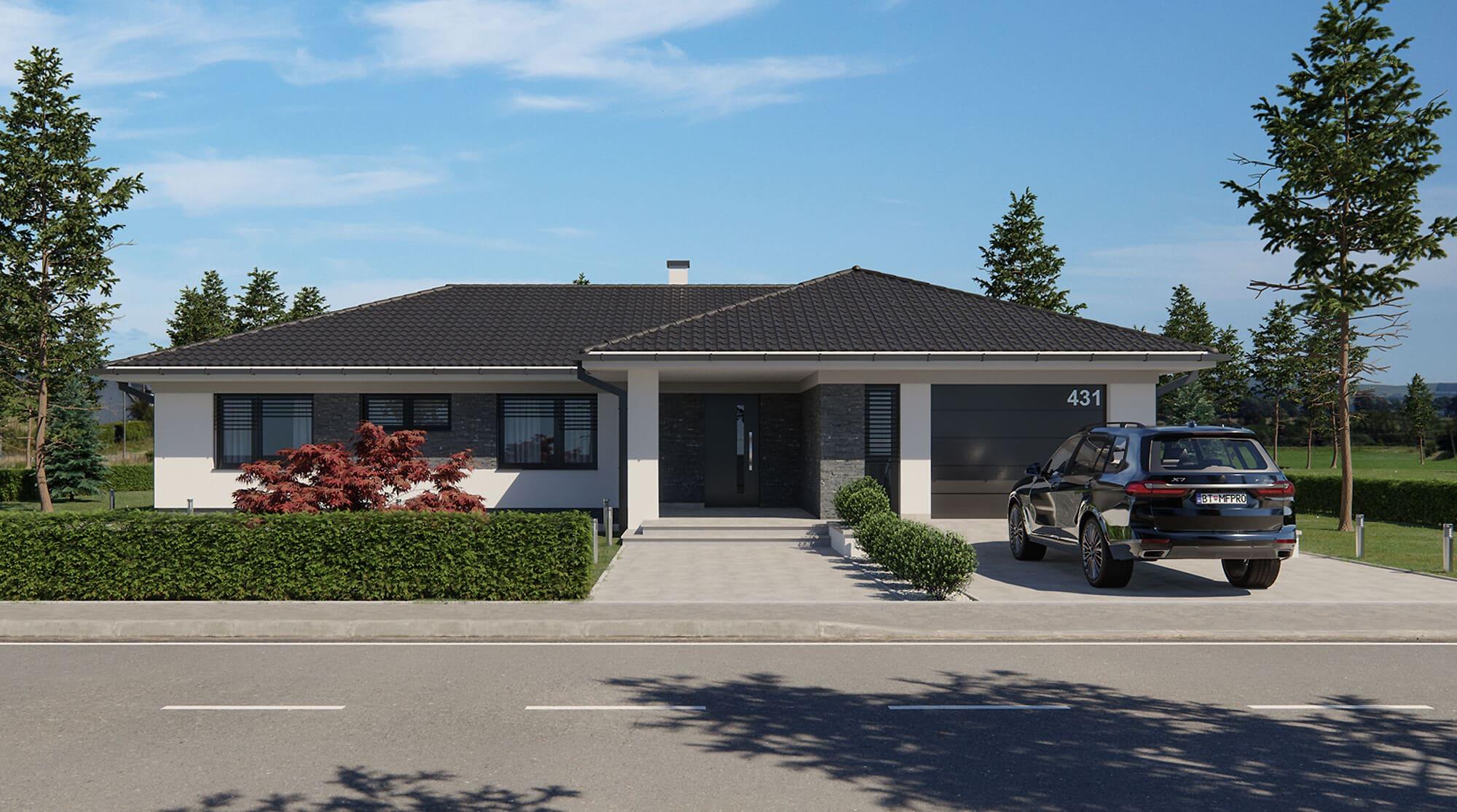 projekt rodinného domu style 241
