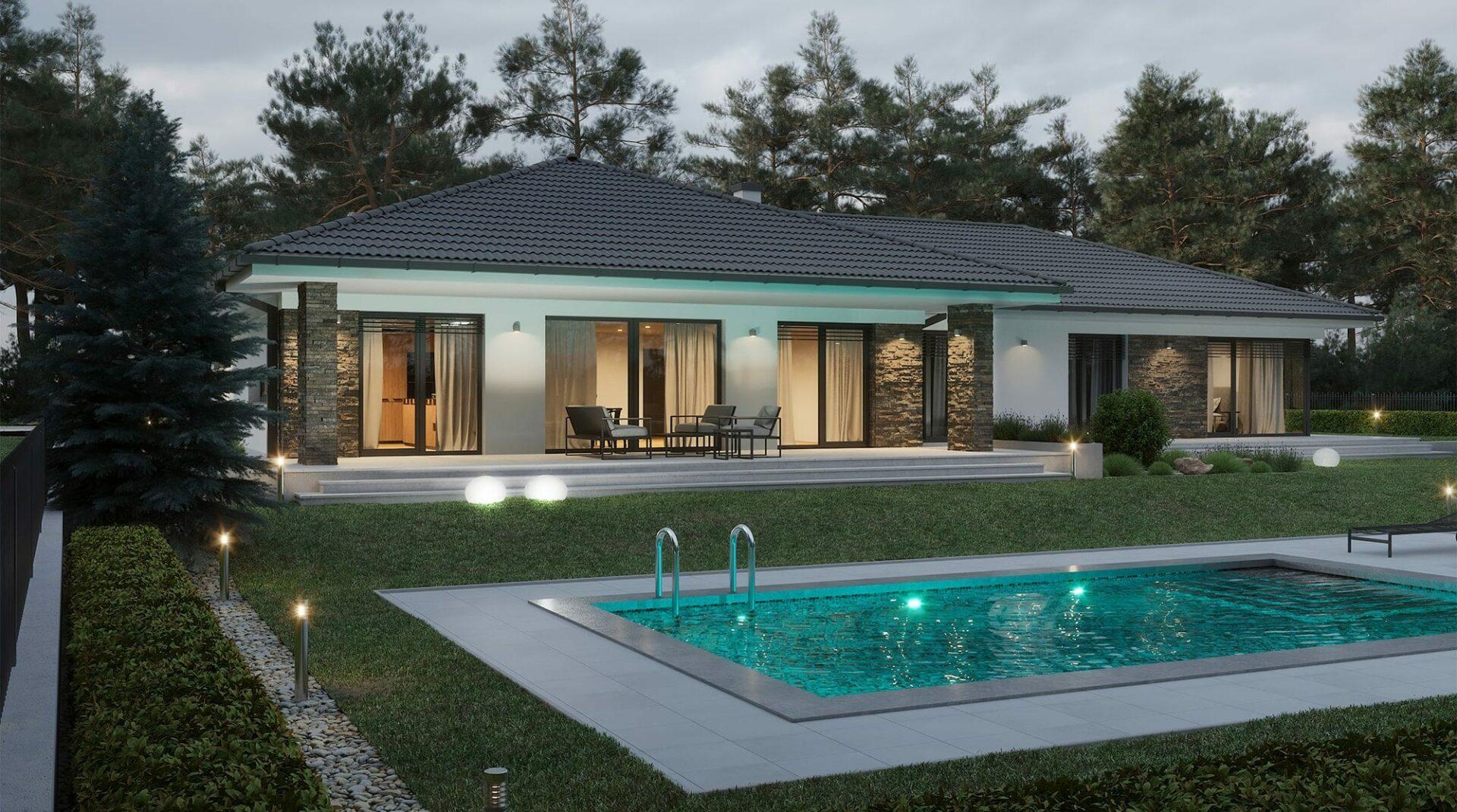 projekt rodinného domu style 232
