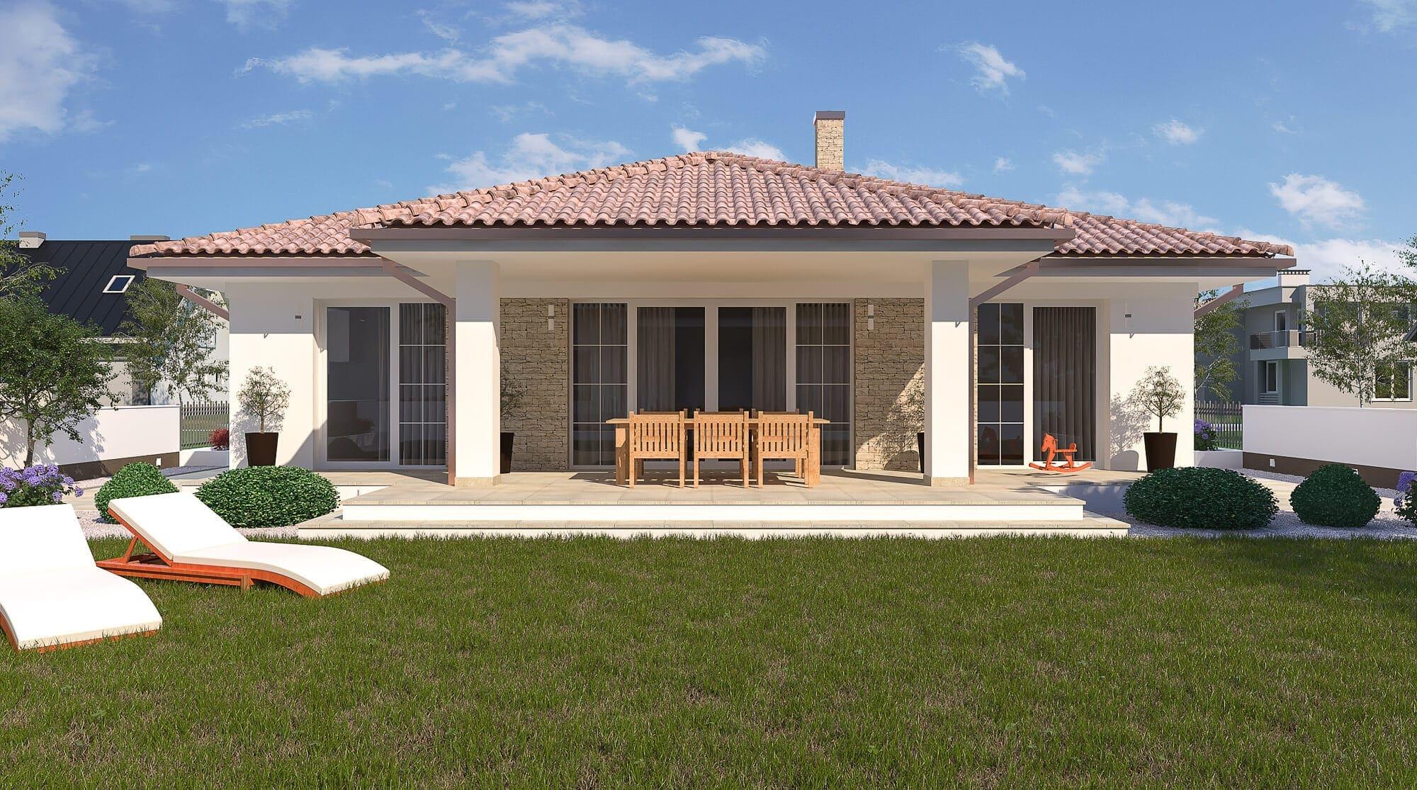 projekt rodinného domu style 224