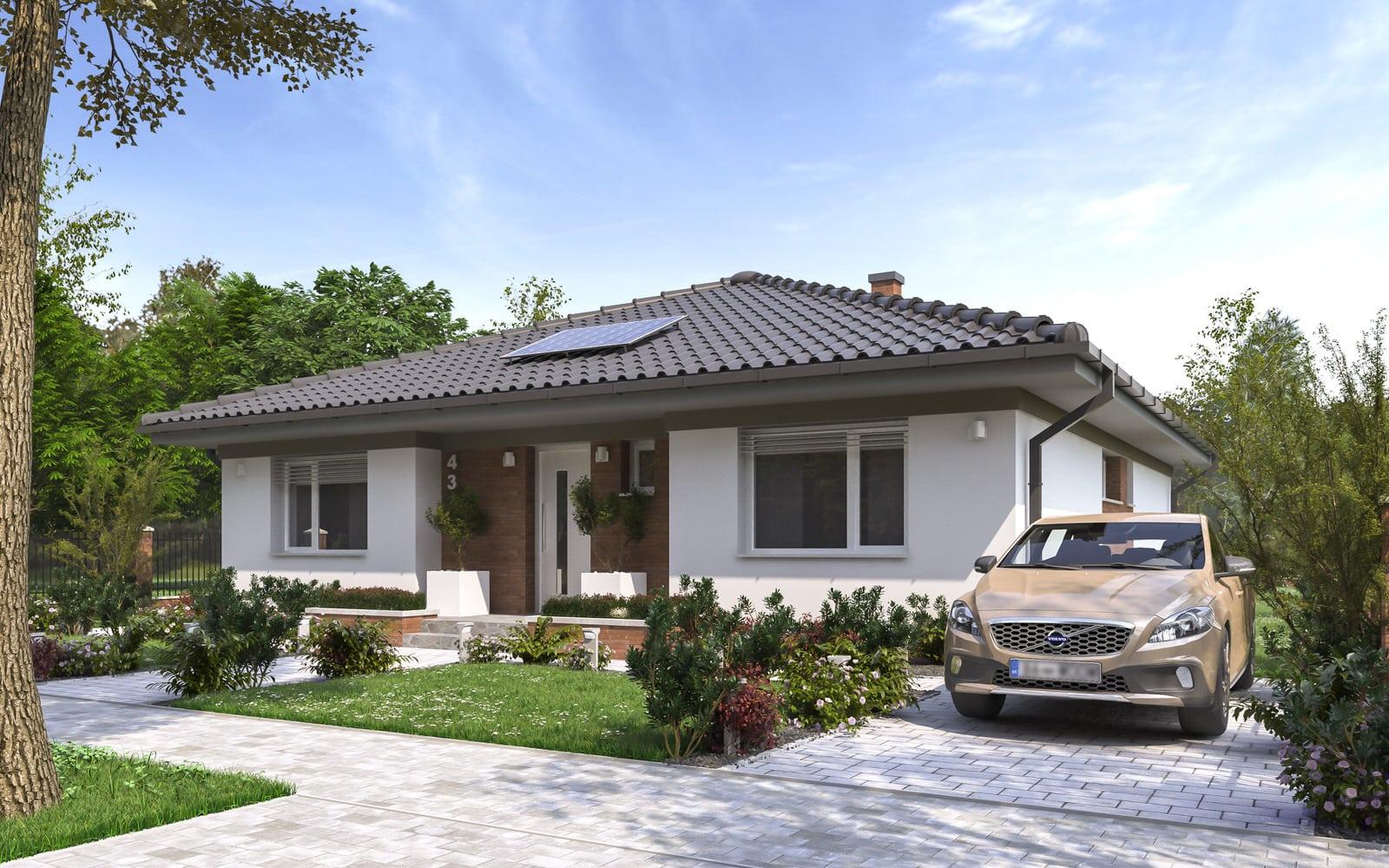 projekt rodinného domu style 220