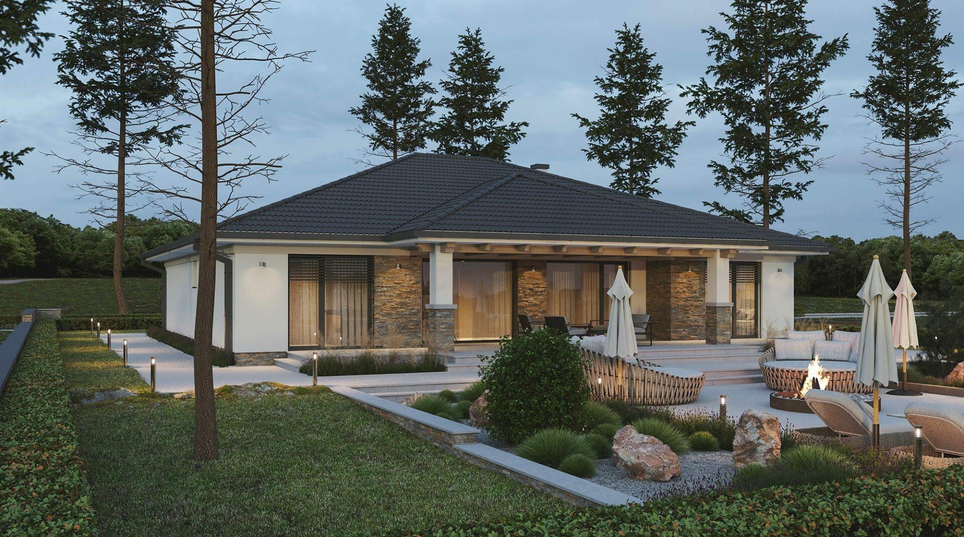 projekt rodinného domu style 234