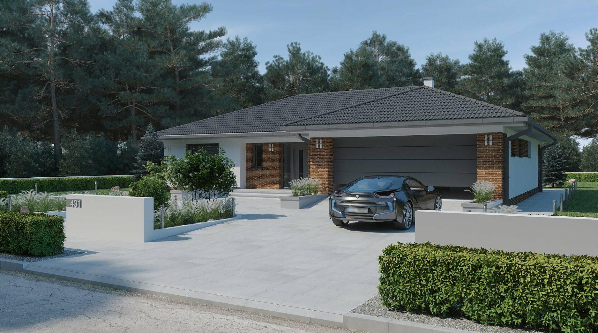 projekt rodinného domu style 231