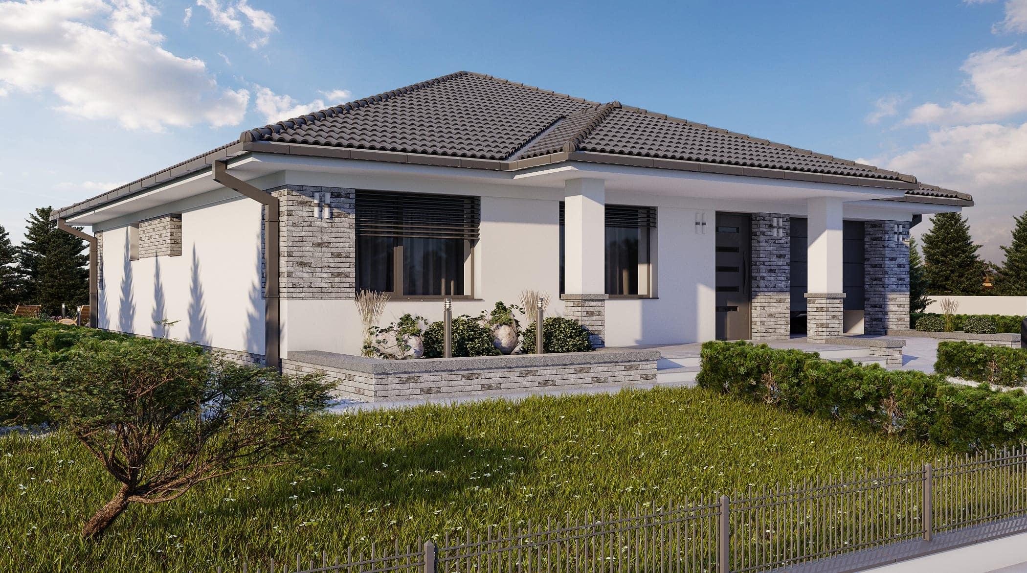 projekt rodinného domu style 229