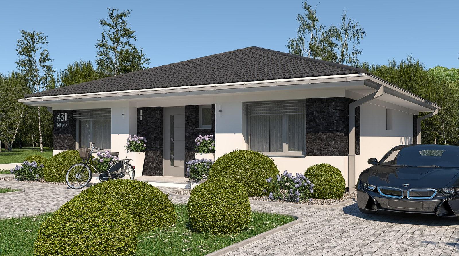 projekt rodinného domu style 223