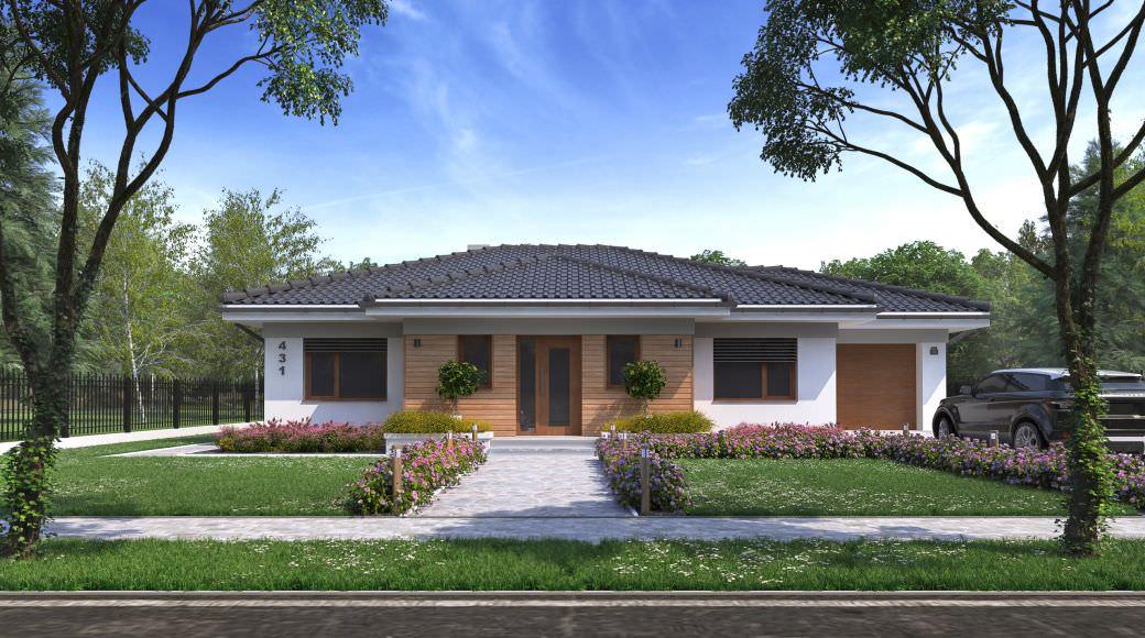 projekt rodinného domu style 219