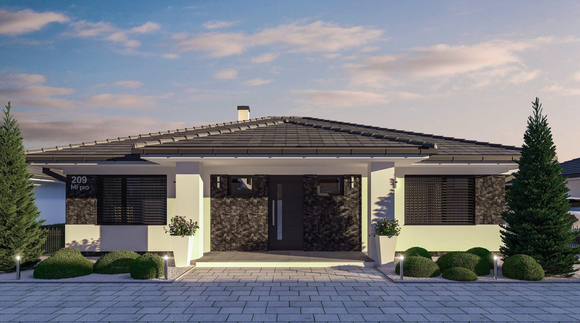 projekt rodinného domu style 228