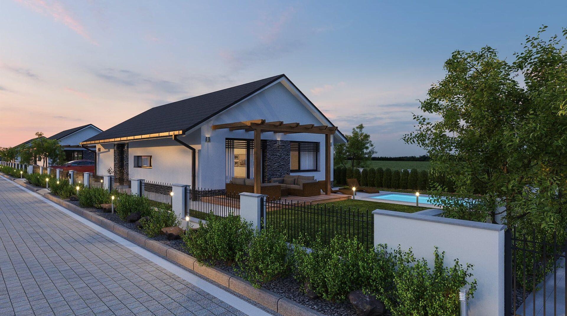 projekt rodinného domu style 230