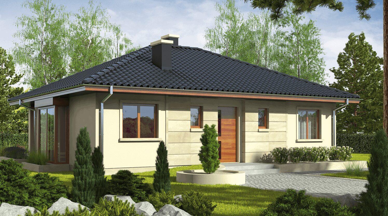 projekt rodinného domu bungalov 131