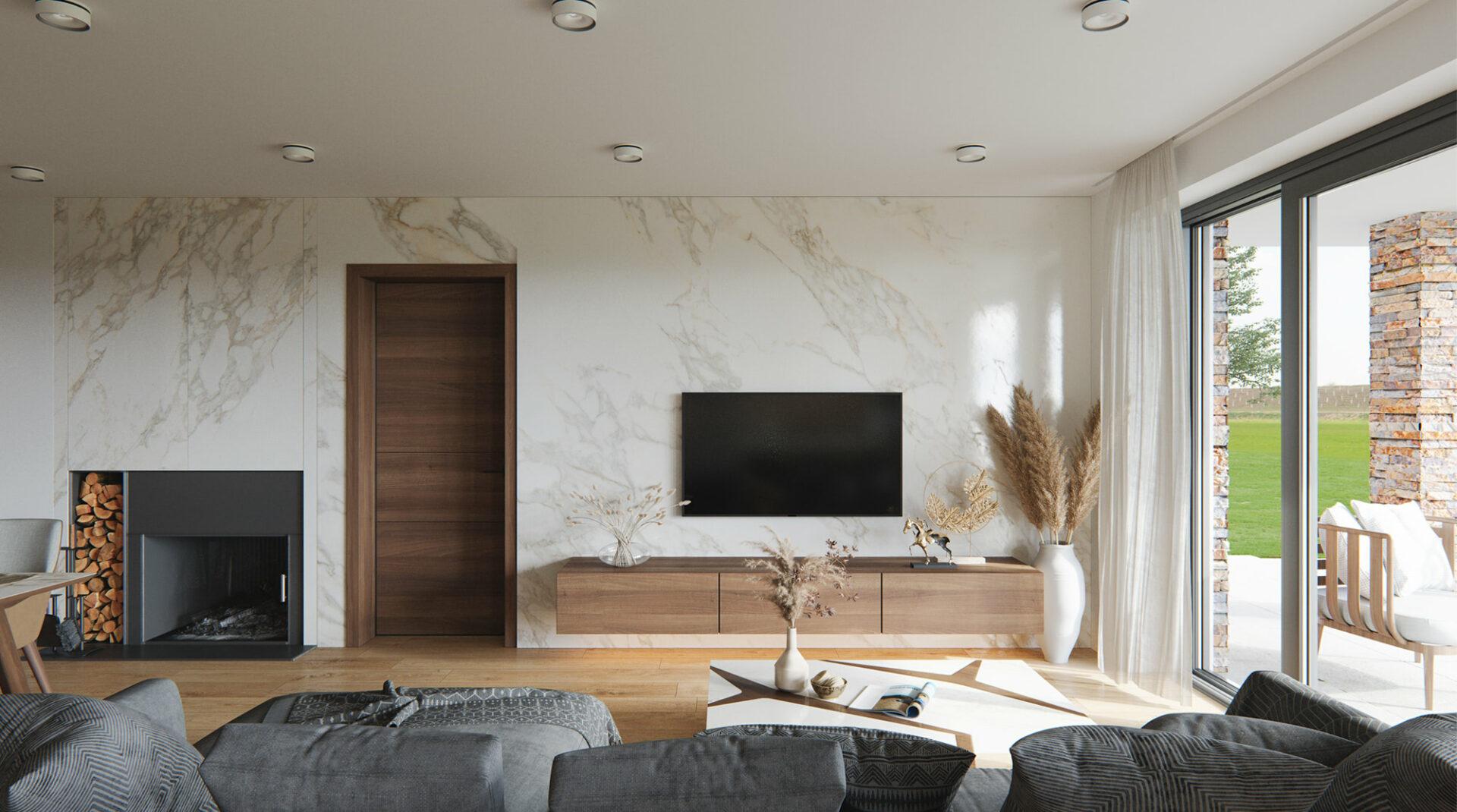 projekt rodinného domu style 243